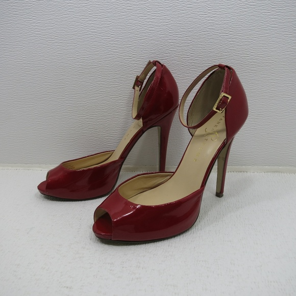 8148b79f71f2 Ivanka Trump Shoes - Ivanka Trump Red Patent Leather Stilettos 8 M